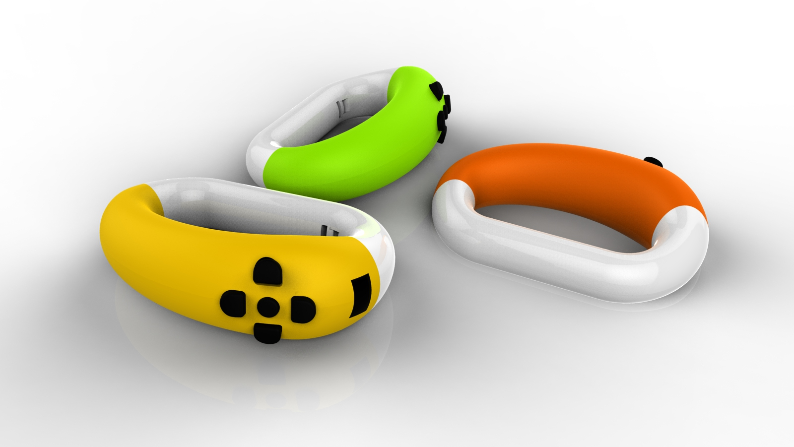 Controller in various colors